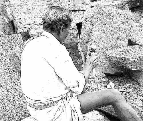 A kőfaragó története – avagy a több sosem elég