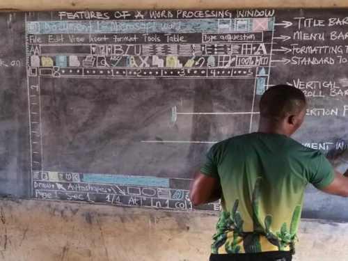 Mindennapi Motiváció – A ghánai tanár, akit semmi nem állíthat meg a tudás átadásában